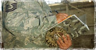 Guy Writing out a Survival Plan