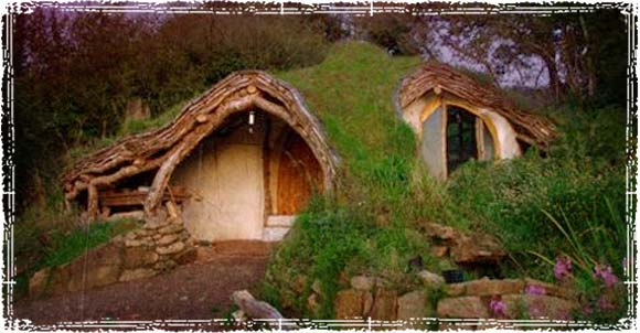 A Hobbit Style Earthship