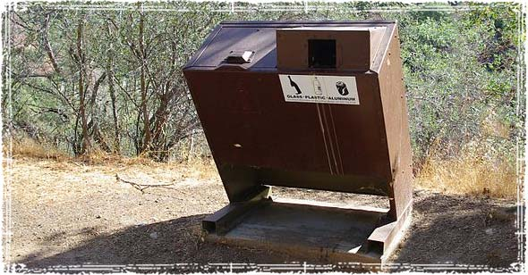 Bear-proof Garbage Can
