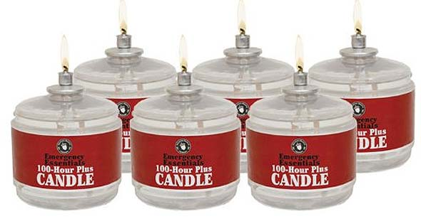 Emergency Essentials 100 Hour Candles