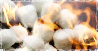 Cottonballs on Fire