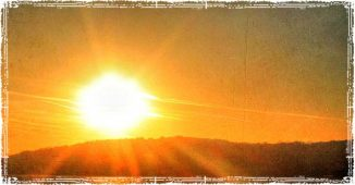 The Blazing Summer Sun