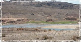 Boondocking in the Desert by a Lake