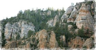Wilderness Mountain Terrain