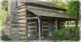 Off The Grid Log Cabin