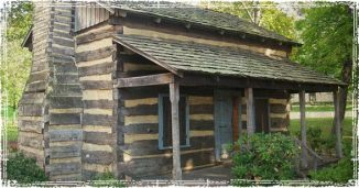 Off The Grid Log Cabin