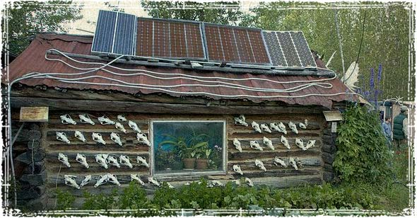 Simple Cheap Solar Homesteading