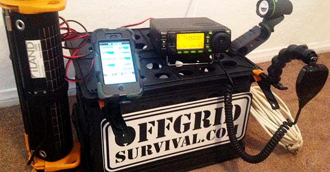 Mobile Emergency Ham Radio Gear