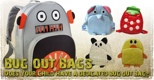 Bug Out Bag for Kids
