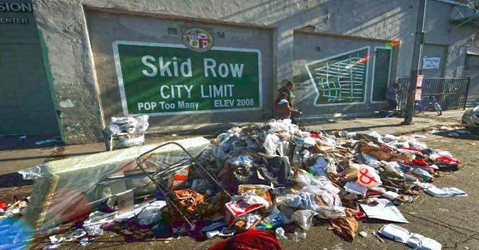 Skid Row California