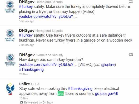 DHS Tweets
