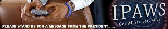 president texting alert
