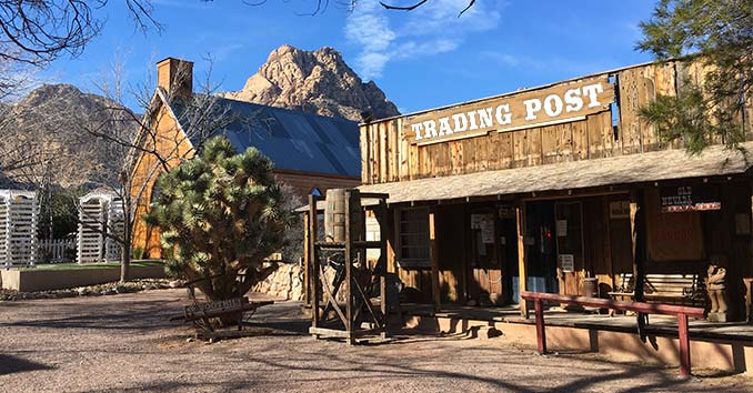 An Old West Trading Post