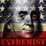 Ben Franklin extremist image