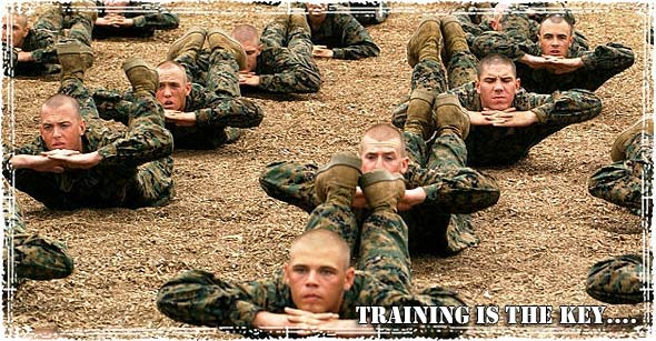 Marines Training