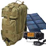 ham radio with a bug out bag