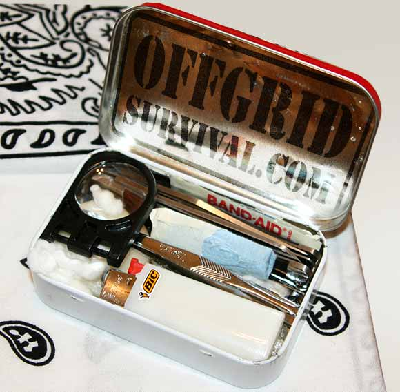 altoids tin survival kit