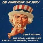 Do Not Discuss Propaganda Poster