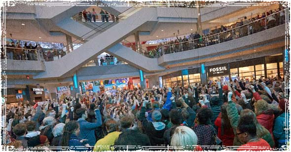 Flash Mob in a Mall