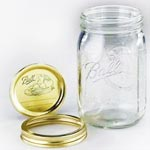 Canning Jar and Lid