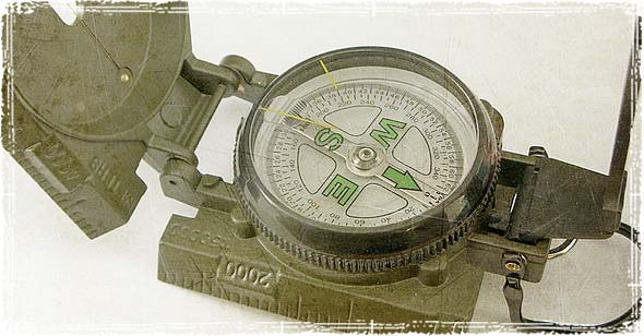 Old Military Compass