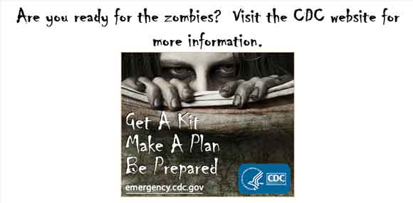 cdc zombie graphic