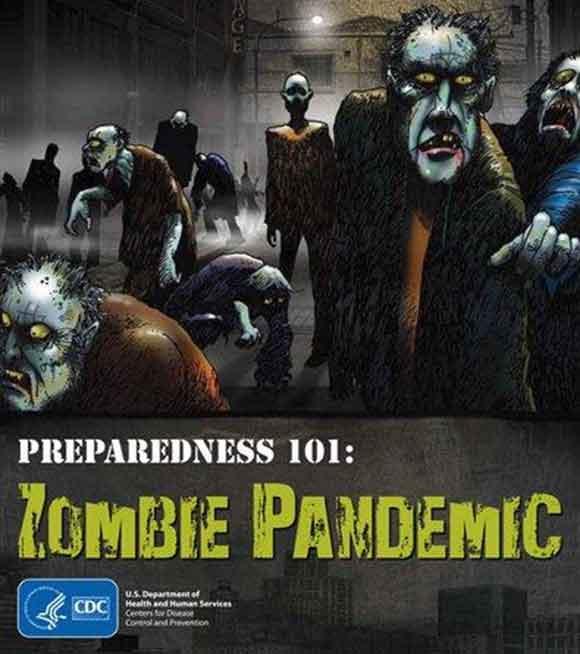 cdc zombie poster