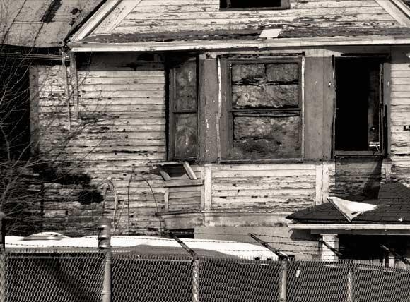 abandoned drug homes in Detroit