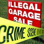 Grage Sale Sign