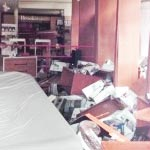 Looted Brookstone in New York