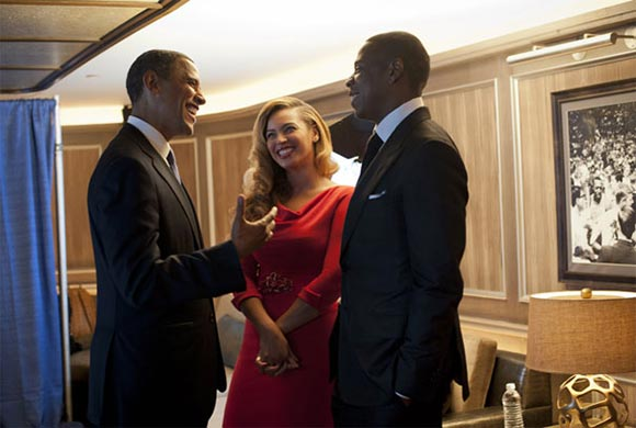 Jay-Z at the White House
