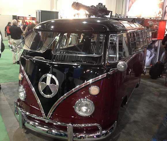 Tactical VW Bus