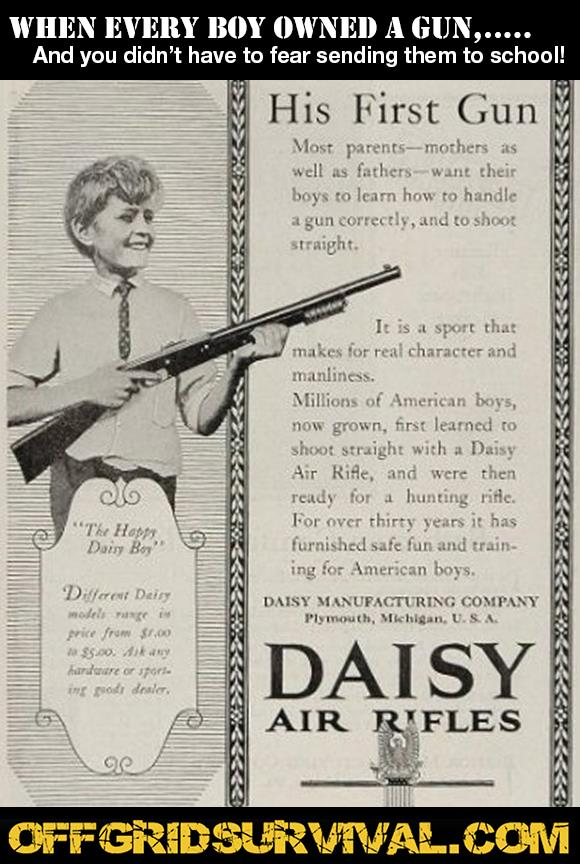 Old Daisy Rifle Ad