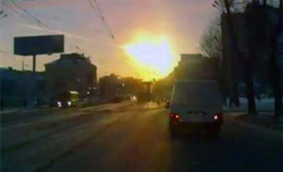 Meteorite FLying Over Russia