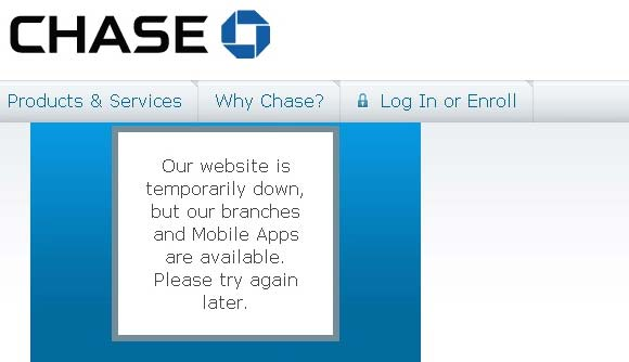 Chase DOS Attack Screenshot