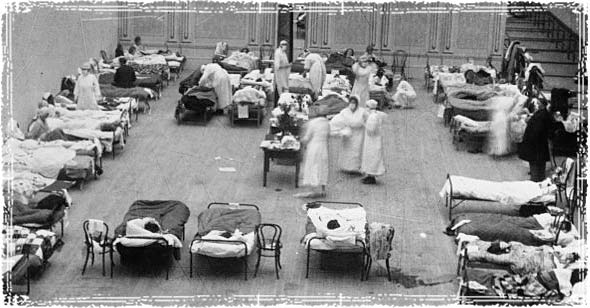 1918 Flu Outbreak at Hospitals