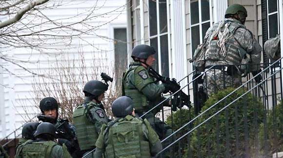 Armed Warrantless Raids
