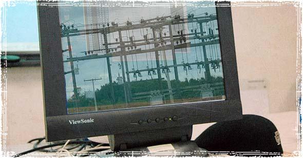 Hacker computer screen