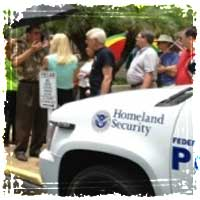 Armed DHS Goon Squads now monitoring Tea Party Protestors