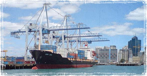 Ship Imporiting Chinese Goods
