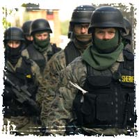 militarized police forces