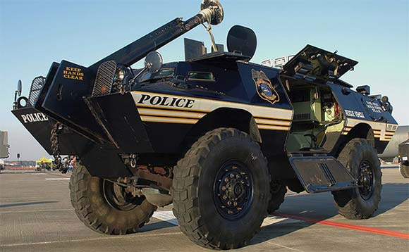 tampa swat vehicle