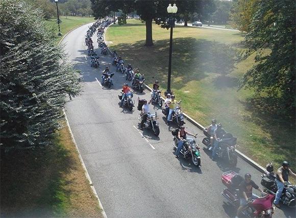 Bikers in D.C.