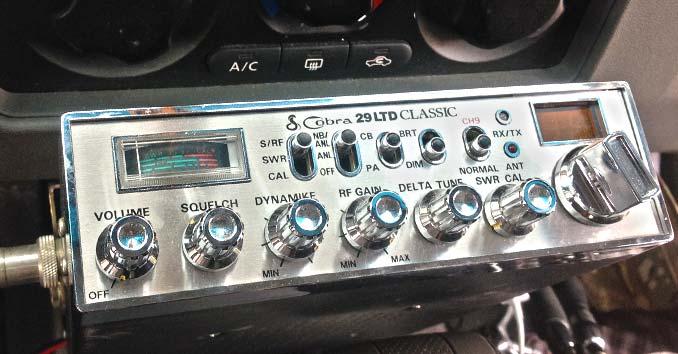 CB Radio in a Truck