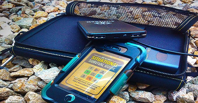 A Cellphone with a Solar Charger