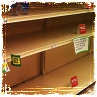 Are Food Stamp Riots Coming? Stores Ransacked and Torn Apart during Food Stamp Outage