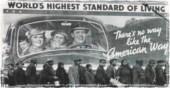 Great Depression Bread Lines