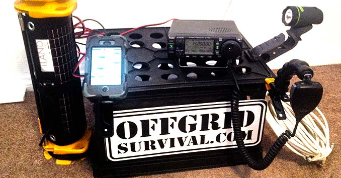 My off the grid ham radio