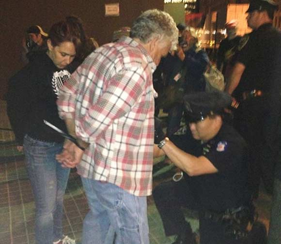 Vets Arrested Outside Vietnam Memorial Plaza