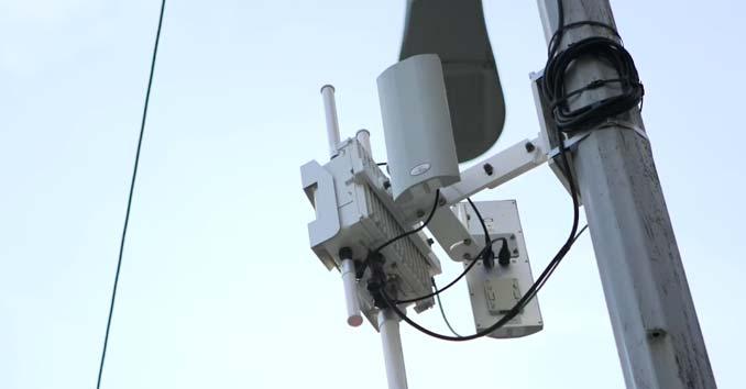 Aruba Networks Wireless Mesh Network Routers in Seattle